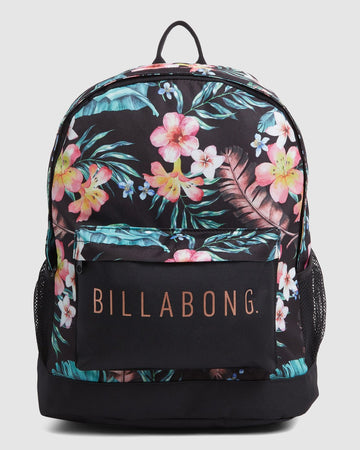 BILLABONG EDEN TIKI B 6603002A-BLK BACKPACK (W)