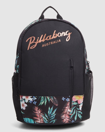 BILLABONG EDEN TAO BP 6603003A-BLK BACKPACK (W)