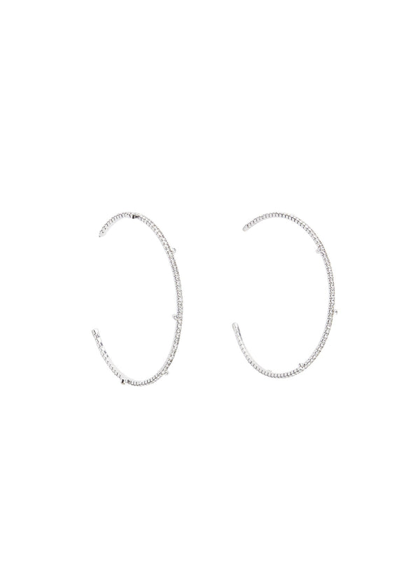 Mango Women Ear Ring Earringsmiley Pendiente 67010057-Pl
