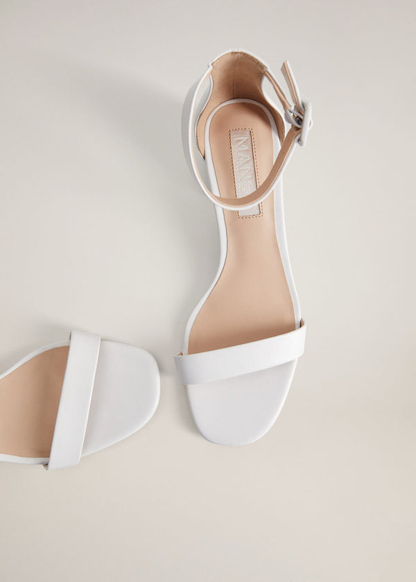 Mango Ankle-cuff sandals 67075931-01