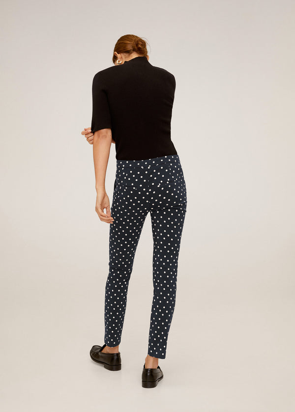 Mango Women Trouser Cola Pantalon Plana 67080514-5