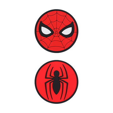 MINISO MARVEL COLLECTION CUP MAT 2 PCS(SPIDER-MAN) 2008119210103 GLASS CUP MAT