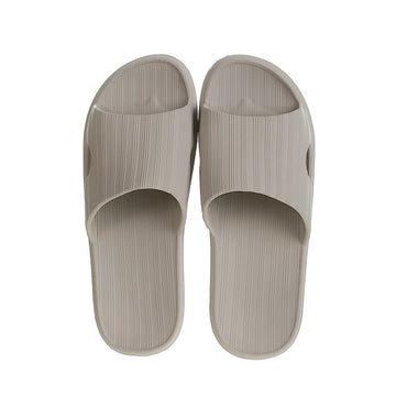 MINISO MEN'S COMFORT BATHROOM SLIPPERS (LIGHT GREY, 41-42) 2009721312117 BATHROOM SLIPPERS