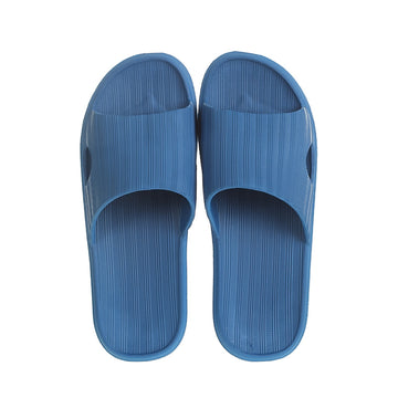 MINISO MEN'S COMFORT BATHROOM SLIPPERS (BLUE, 41-42) 2009721314111 BATHROOM SLIPPERS