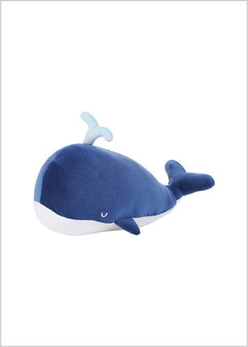MINISO OCEAN SERIES- WHALE PLUSH TOY (DARK BLUE) 2006882611103 REGULAR PLUSH