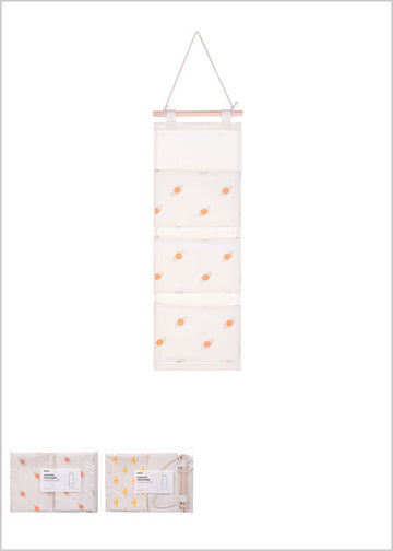 Miniso Modern Collection - 3 - compartment Hanging Organizer (Small) 2006994410106