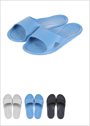 MINISO MEN'S COMFORTABLE BATHROOM SLIPPERS S 41/42 2007001910107 BATHROOM SLIPPERS