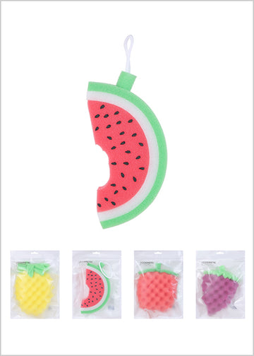 MINISO FRUIT SERIES BATH SCRUBBER 2007036610102 SHOWER SPONGE