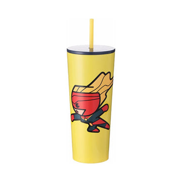 MINISO MARVEL- TUMBLER (CAPTAIN MARVEL) 2007143710108 STEEL CUP