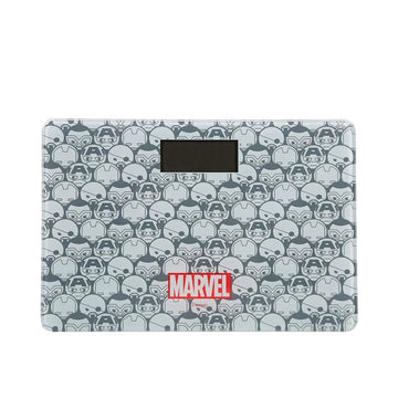 MINISO MARVEL BODY WEIGHT SCALE,GREY&WHITE 2007155313106 ELECTRIC SCALE