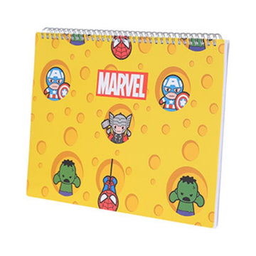 Miniso Marvel A4 Sketch Book-C 2007288912108