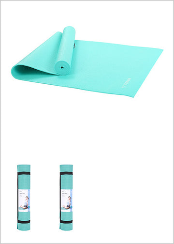 MINISO 3MM COMFORTABLE YOGA MAT(LIGHT BLUE) 0300017662 YOGA ACCESSORIES