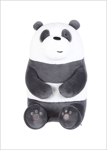 MINISO WE BARE BEARS-LOVELY SITTING PLUSH TOY (PANDA) 0300021151 IP PLUSH