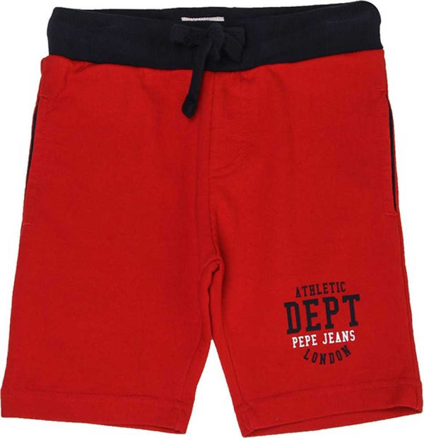 Pepe Jeans Olsen Ip PB800613 RED Short Young Boys