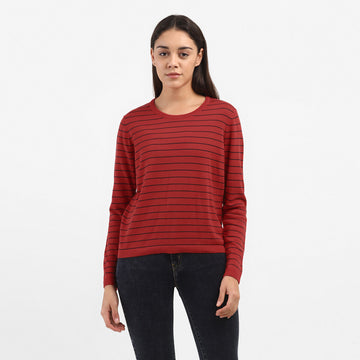 LEVIS POINTELLE FLT 73276-0019 T-SHIRT LONG SLEEVE (W)