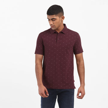 LEVIS SS STRETCH AOP 74700-0062 POLO T-SHIRT (M)