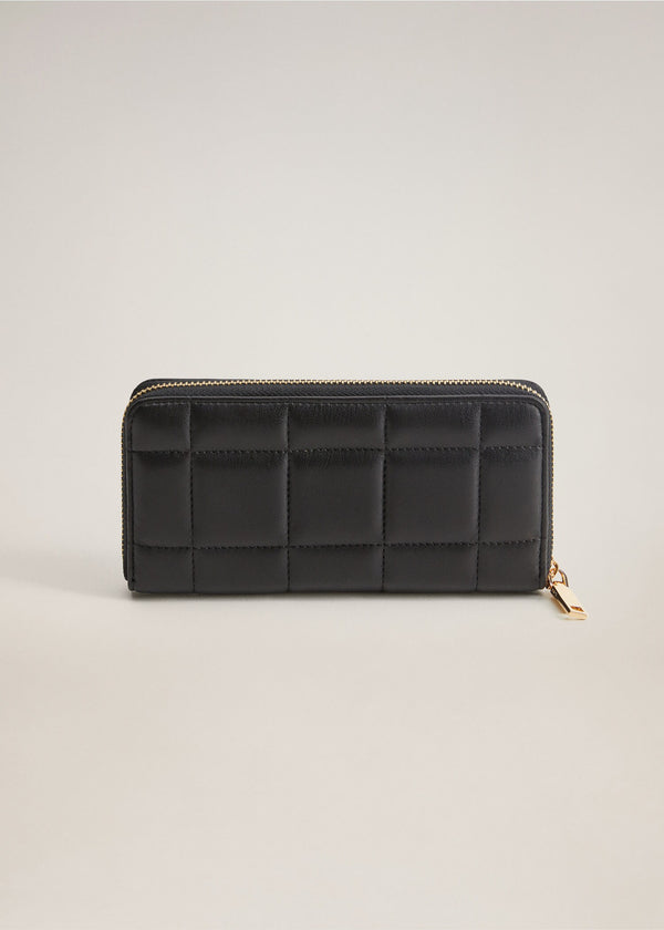 Mango Quilted Wallet 77004398-99