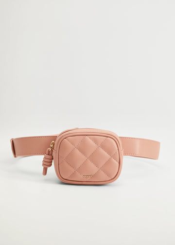 Mango Quilted Belt Bag 77006318-80