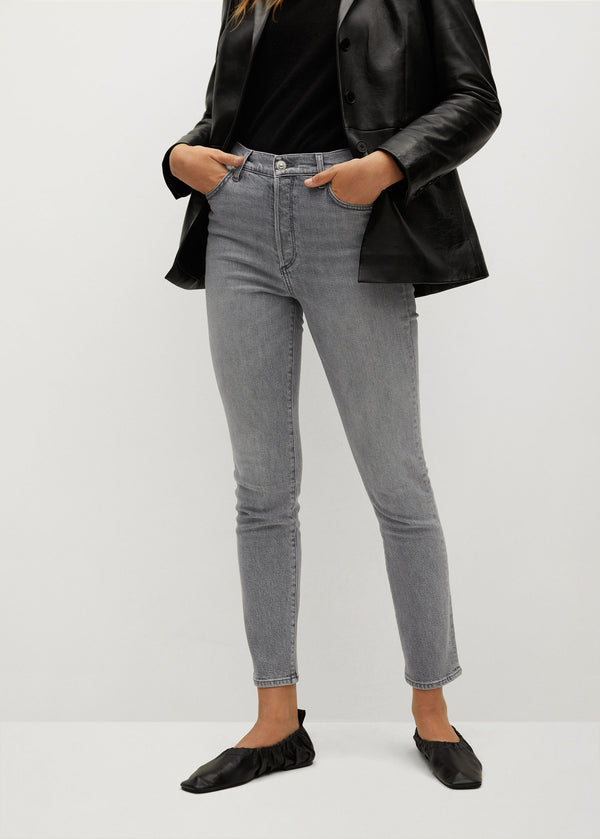 Mango Slim-Fit High Waist Jeans 77006715-TG