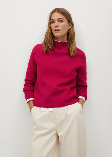 Mango Fine-Knit Sweater 77007644-88