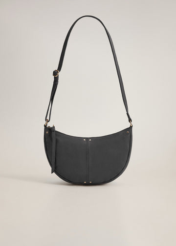 Mango Leather Cross Body Bag 77010089-99