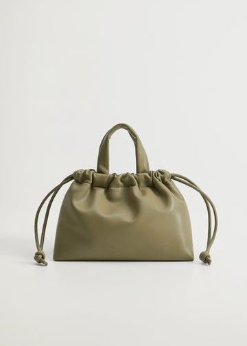 Mango Pleated Volume Bag 77016712-37