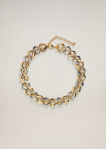 Mango Link Chain Necklace 77022912-PL