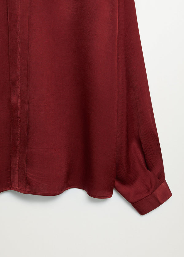 Mango Satin Blouse 77027638-85