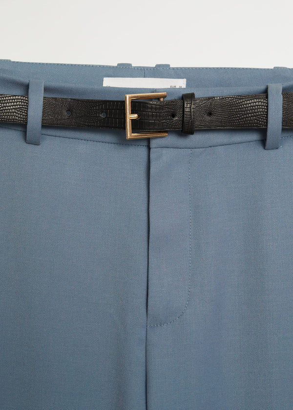 Mango Belt Suit Trousers 77030108-50