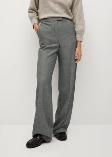Mango Pleated Suit Trousers 77037619-92