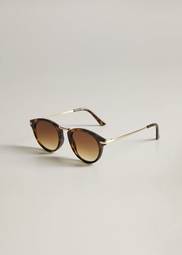 Mango Metal Bridge Sunglasses 77040516-32