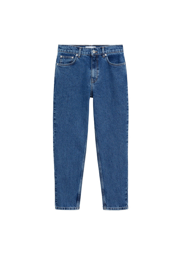 Mango 100% Cotton Mom-Fit Jeans 77055933-TO