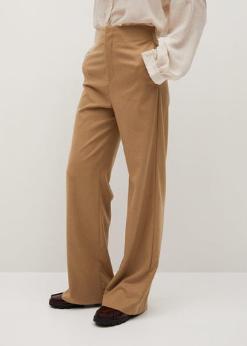 Mango Straight Suit Trousers 77075915-08