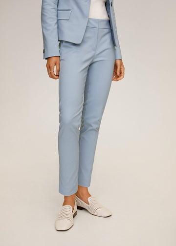 Mango Suit Slim-Fit Trousers 77082888-50