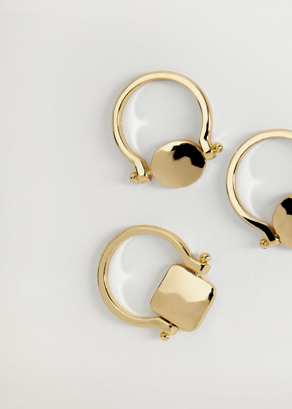 Mango Combined Ring 3 Set 77092905-OR
