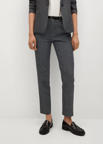 Mango Straight Suit Trousers 77097605-92