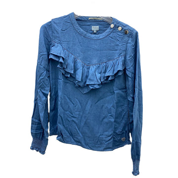 PEPE JEANS TULLY IP PG301453G22-DENIM FASHION TOP (YG)