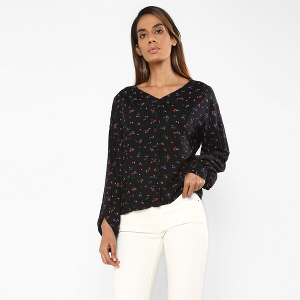 Levi's Styled Top 80872-0001 Fashion Top Long Sleeve (W)