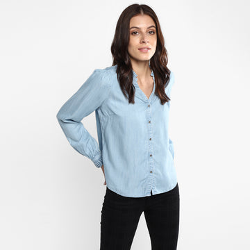 LEVIS SHANELLE 80887-0000 FASHION TOP LONG SLEEVE (W)