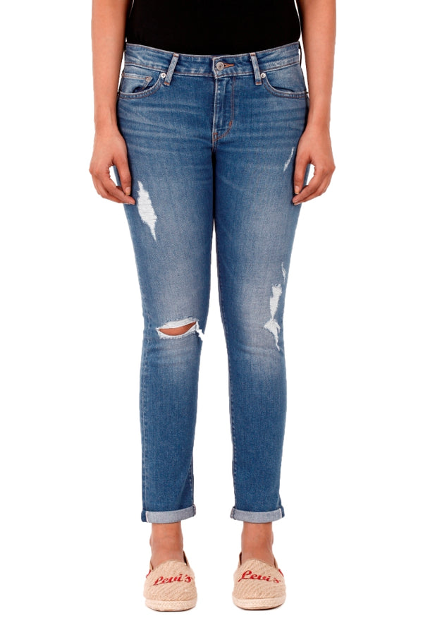 Levi's 711 Selvedged Skinny Jeans 83386-0009 Denim Pant (Jeans) (W)