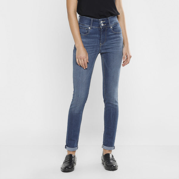 Levi's 721 Styled Denim High Rise Skinny Jeans 83394-0001 Denim Pant (Jeans) (W)