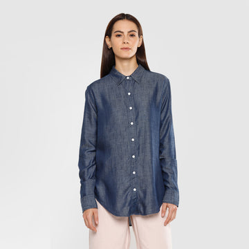 Levi's Boyfriend Shirt 84776-0001 Shirt Long Sleeve (W)