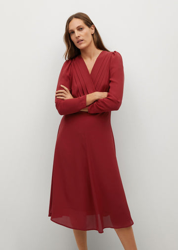 MANGO MARIA 87040554-70 MANGO WOMEN DRESS FULL LENGTH