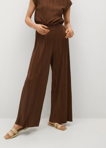 MANGO JUNGLE-A 87075667-30 MANGO WOMEN TROUSER