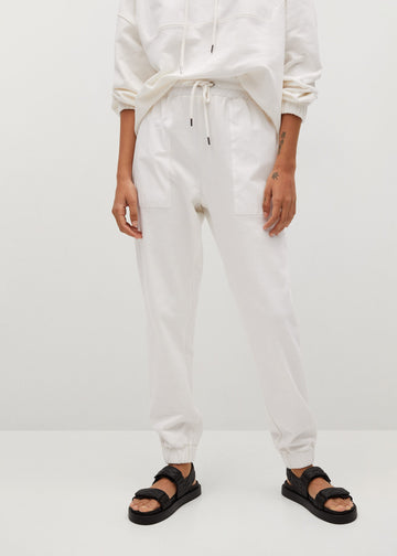 MANGO SPORTY-A 87085647-05 MANGO WOMEN TROUSER