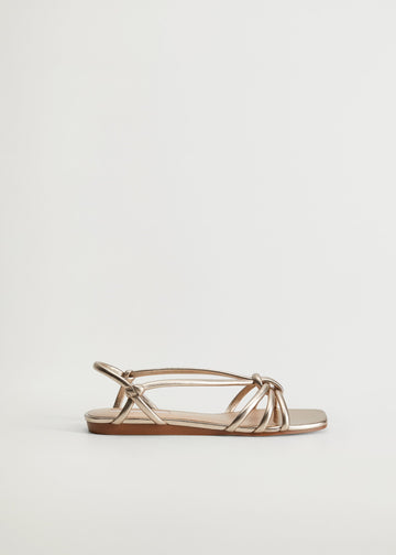 MANGO KNOTS 87110062-OR MANGO WOMEN SANDAL