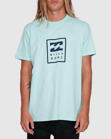 BILLABONG UNITED STACK 9503009-SGL T-SHIRT SHORT SLEEVE (M)