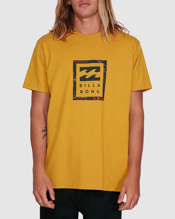 BILLABONG UNITED STACK 9503009-V21 T-SHIRT SHORT SLEEVE (M)
