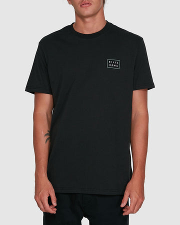 BILLABONG DIE CUT THEME 9503013-BLK T-SHIRT SHORT SLEEVE (M)