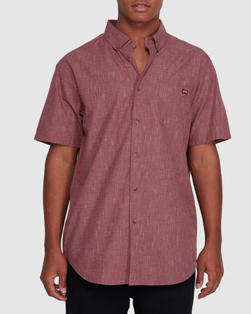BILLABONG ALL DAY SS 9503200-OX2 SHIRT SHORT SLEEVE (M)
